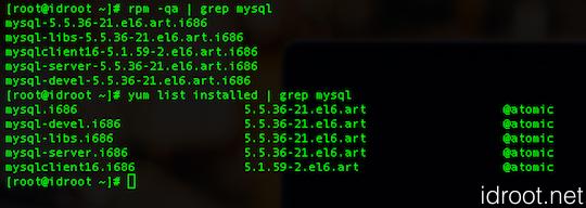 Completely Removing MySQL Server in CentOS