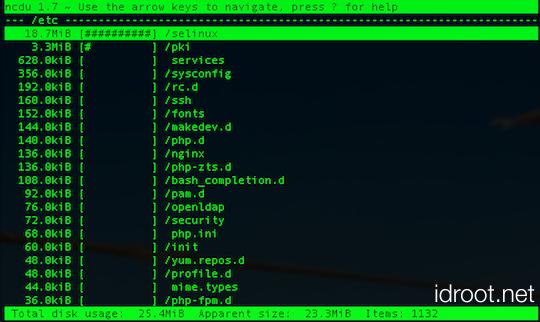 Install NCDU on Ubuntu 17.04