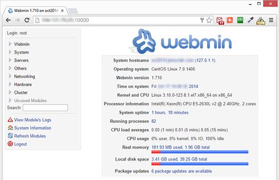 webmin-panel