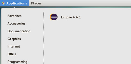 Install Eclipse Luna on CentOS 7