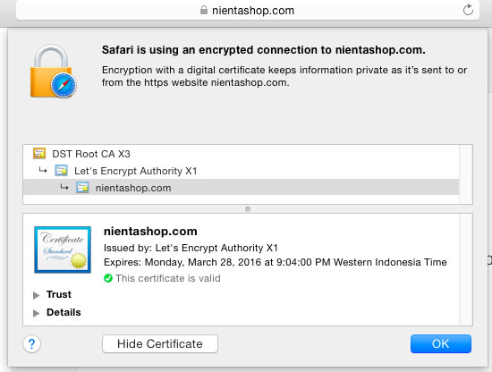 letsencrypt-encrypted-connection