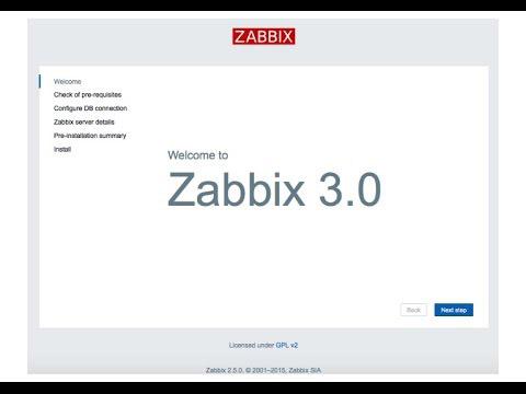 Install Zabbix on CentOS 7