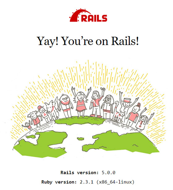 Install Ruby on Rails on CentOS 7