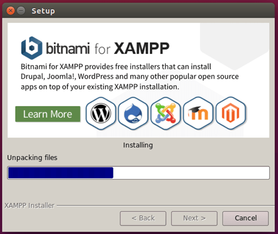 Install XAMPP on Ubuntu 18.04 LTS