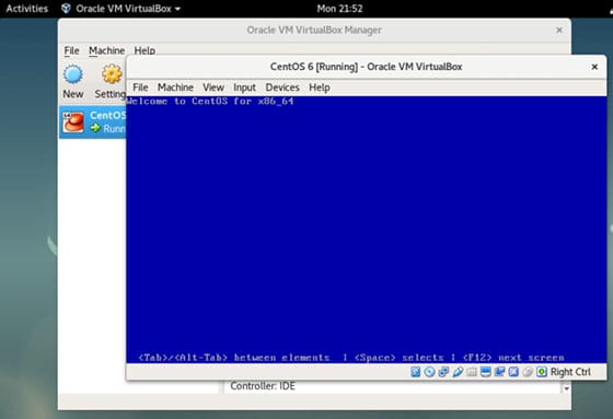 Install VirtualBox on CentOS 8