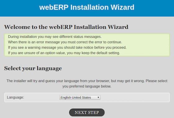 Install WebERP on Ubuntu 16.04 LTS