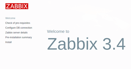 Install Zabbix on Debian 9 Stretch