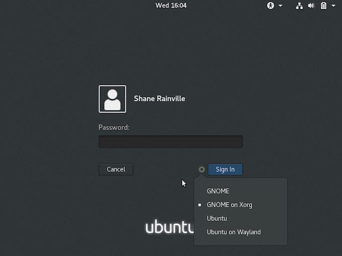 Install GUI Gnome on Ubuntu 18.04 LTS