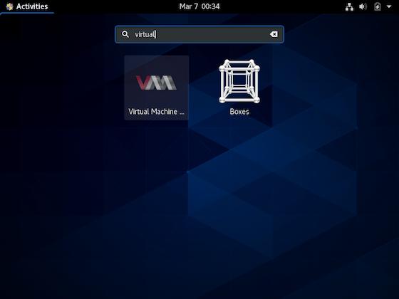 Install KVM on CentOS 8