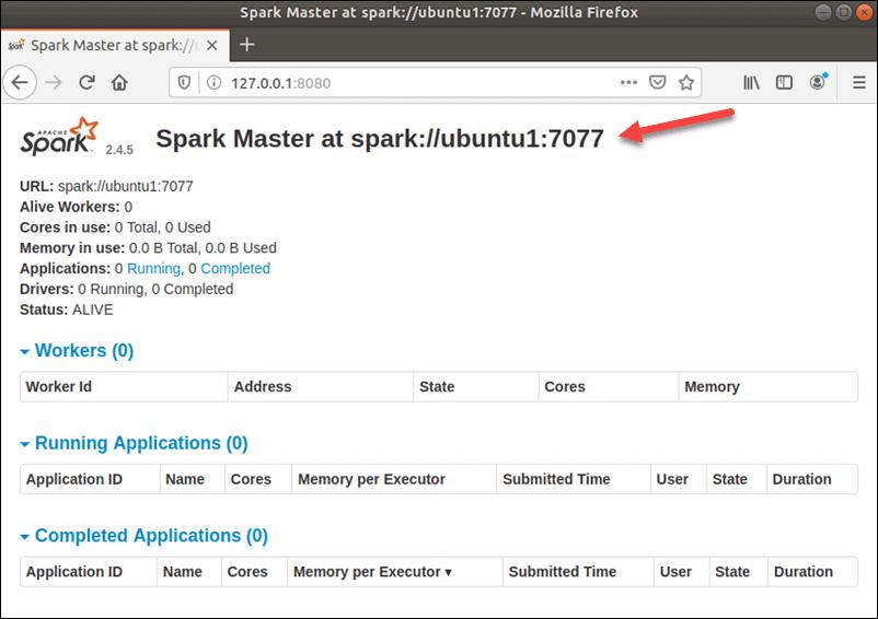Install Apache Spark on Ubuntu 20.04