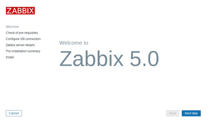 Install Zabbix on Debian 10