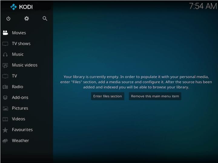 Install Kodi on Linux Mint 20 Ulyana