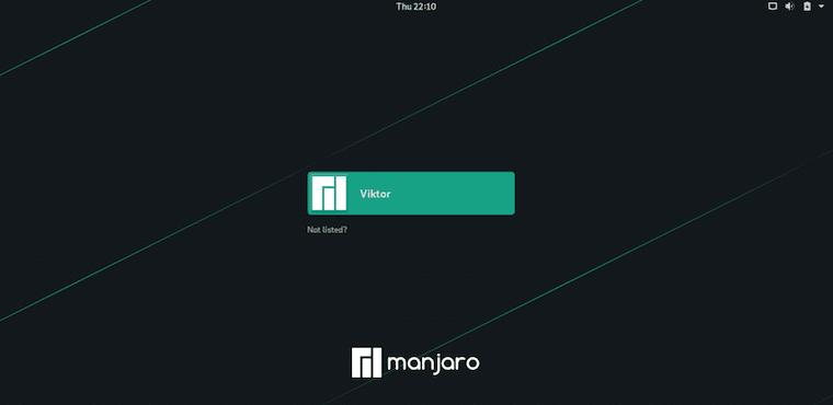 Install GNOME Desktop on Manjaro 20