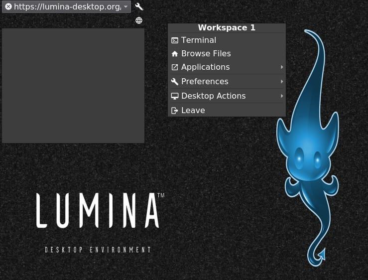 Install Lumina Desktop on Ubuntu 20.04