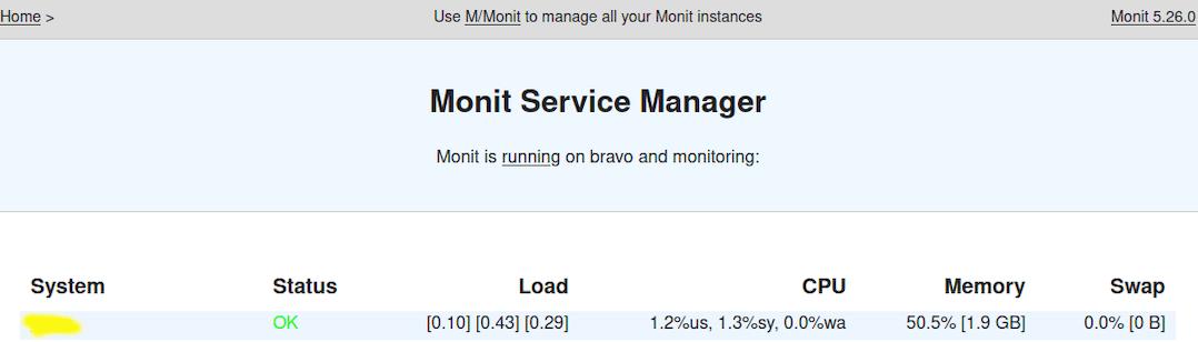 Install Monit on CentOS 8