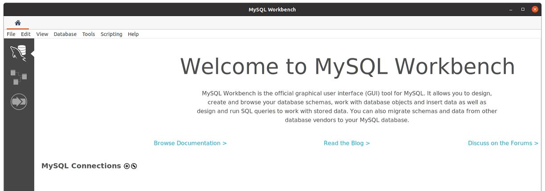 Install MySQL Workbench on Ubuntu 20.04