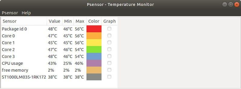 Check CPU Temperature on Ubuntu