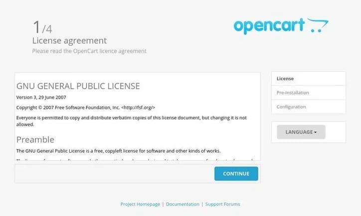 Install OpenCart on Ubuntu 20.04
