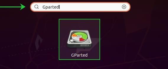 Install GParted on Ubuntu 20.04