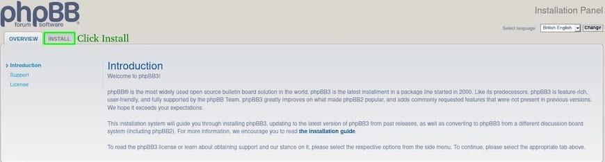 Install phpBB on Ubuntu 20.04 LTS Focal Fossa