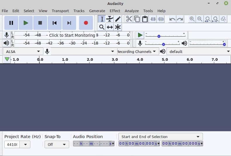 Install Audacity on Linux Mint 20 Ulyana