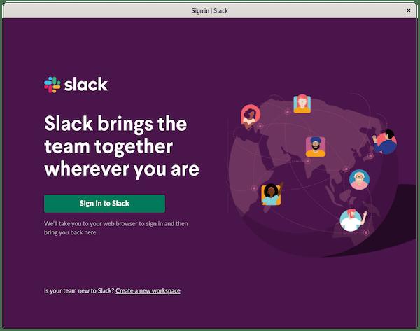 Install Slack on Debian 11 Bullseye