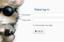Observium-login-page